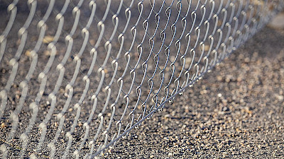The edge wire makes the chain link fencing more durable and stronger.