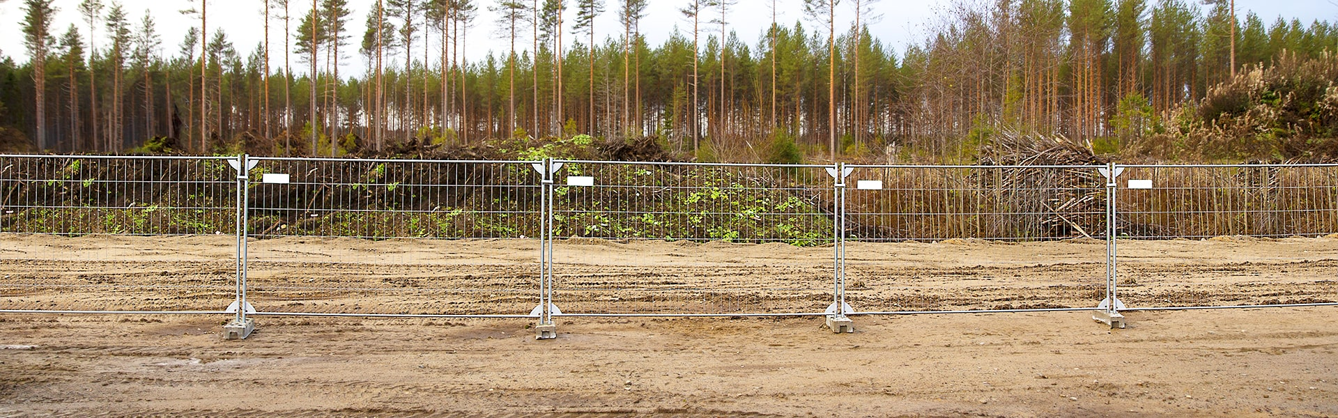 Temporary & mobile fences